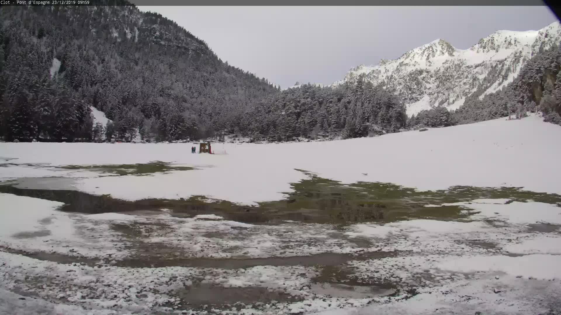 Webcam Cauterets: Plateau du Clot