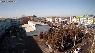 Vue webcam de jour à partir de Shymkent › North West: Respublika Ave
