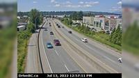 Port Coquitlam > South-West: , Hwy B, on Mary Hill, looking southwest - Overdag