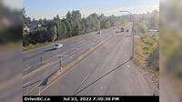 Surrey > West: Hwy  (South Fraser Perimeter Rd) at Bridgeview Dr, looking west - Actuales