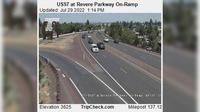 Bend: US at Revere Parkway On-Ramp - Overdag