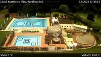 Kostelec u Zlina: Lázně - Areál bazénů - Recent