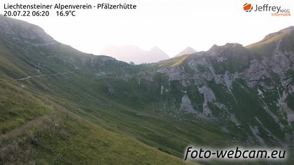 Schaan: Liechtensteiner Alpenverein - Pfälzerhütte