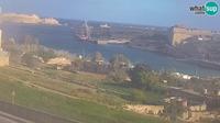 Kalkara: Rinella - entrance to the Grand Harbour, Valletta - El día
