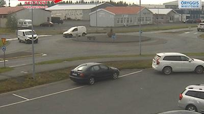 Daylight webcam view from Selfoss › East: Eyravegur
