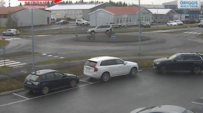 Tageslicht webcam ansicht von Selfoss › East: Eyravegur