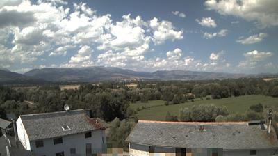 Queixans: Cerdanya Valley from - looking to NW