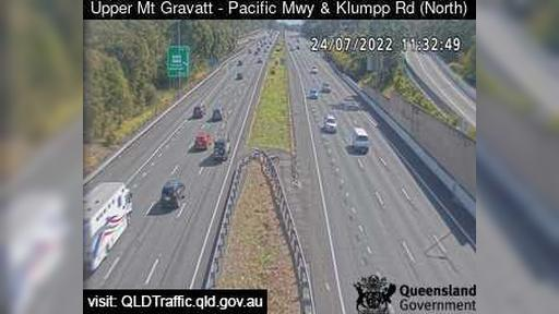 Webcam Macgregor: Upper Mt Gravatt − Pacific Motorway and