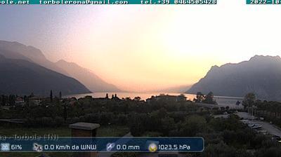 Vignette de Riva del Garda webcam à 8:05, août 2