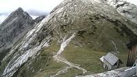 Berchtesgaden: Watzmannhaus - Blick auf Watzmannfrau und Hocheckaufstieg - Actuales
