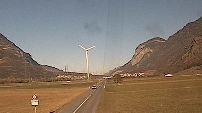 Wind turbine La Balmaz