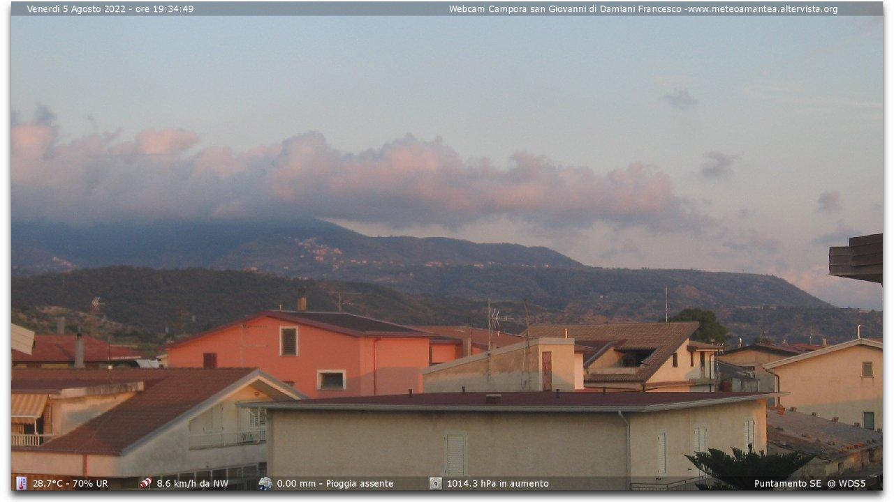 Webcam Campora San Giovanni: webcam − Amantea