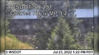 Spokane › North: SR  at MP .: Charles Road () - Actual