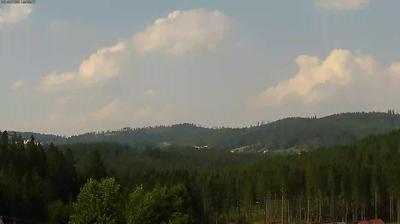 Webcam Istebna: Widok na przełęcz Kubalonka