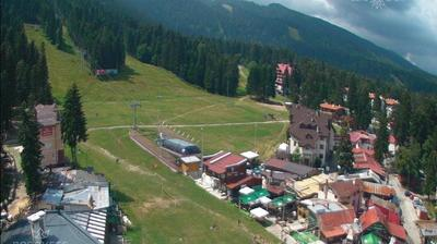 Current or last view from Боровец: Borovets