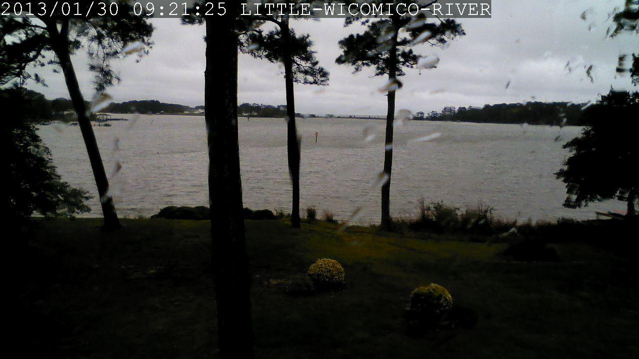Webcam Smith Point Marina › North: Little Wicomico River