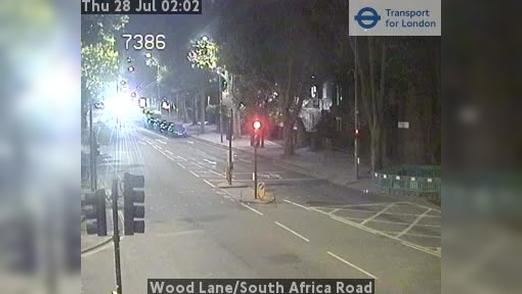 Webcam Acton: Wood Lane/South Africa Road