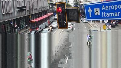 Vue webcam de jour à partir de Juiz de Fora: Avenida Presidente Itamar Franco