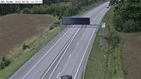 Rydbo: Kameran är placerade på väg  Vaxholmsvägen i höjd med Rydbovägen i riktning mot Stockholm - Dagtid