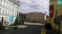 Celje: Webcam - Krekov trg from Hotel Evropa - Day time