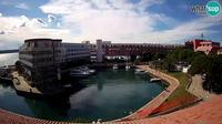 Piran: Hotel Histrion - Bernardin webcam Portoro? - Day time