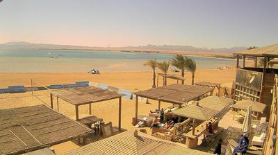 Daylight webcam view from Ras Abu Soma › South: 7 Beaufort Kitehouse