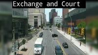 Rochester: Exchange Blvd at Court St - Overdag