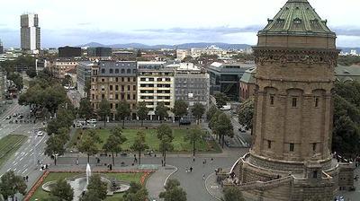 Mannheim webcam Dags-billede