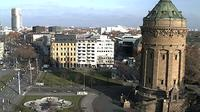 Mannheim: Wasserturm - Overdag