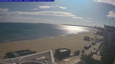 Daylight webcam view from Sunny Beach Resort: Varna