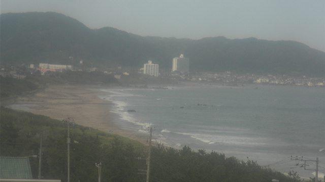 Webkamera Wada: 南房総市 和田浦海岸, Minamiboso