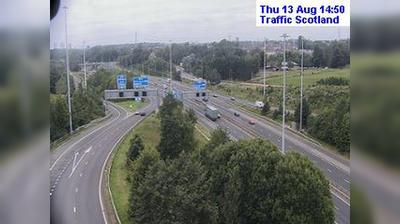 Glasgow: Live M traffic weather camera at the Maryville intersection