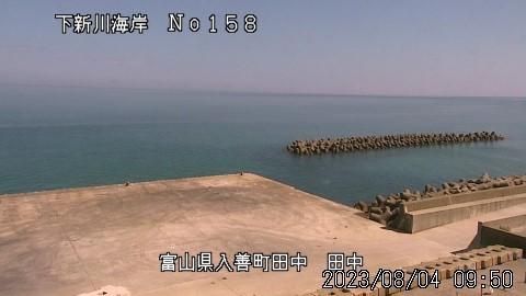 Webkamera Nishi-kurobe: Toyama − Kurobe − Tanaka