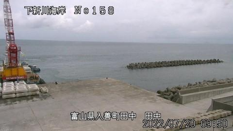 Webcam Nishi-kurobe: Toyama − Kurobe − Tanaka