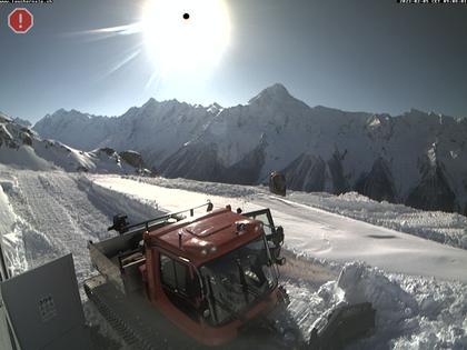 Lauchernalp: Gletscherbahn