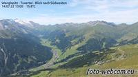 Tux: Wanglspitz - Tuxertal - Blick nach S�dwesten - Day time