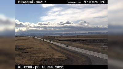 Daylight webcam view from Alafoss: Sandskeið