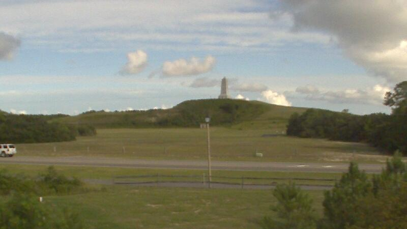 Webcam Kill Devil Hills: Wright Brothers Memorial
