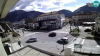 Tolmin: City center of - Day time