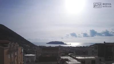 Daylight webcam view from Lazi › West: Sveti Nikola Island