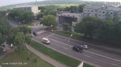 Уссурийск, перекресток Владивостокское шоссе - Крылова