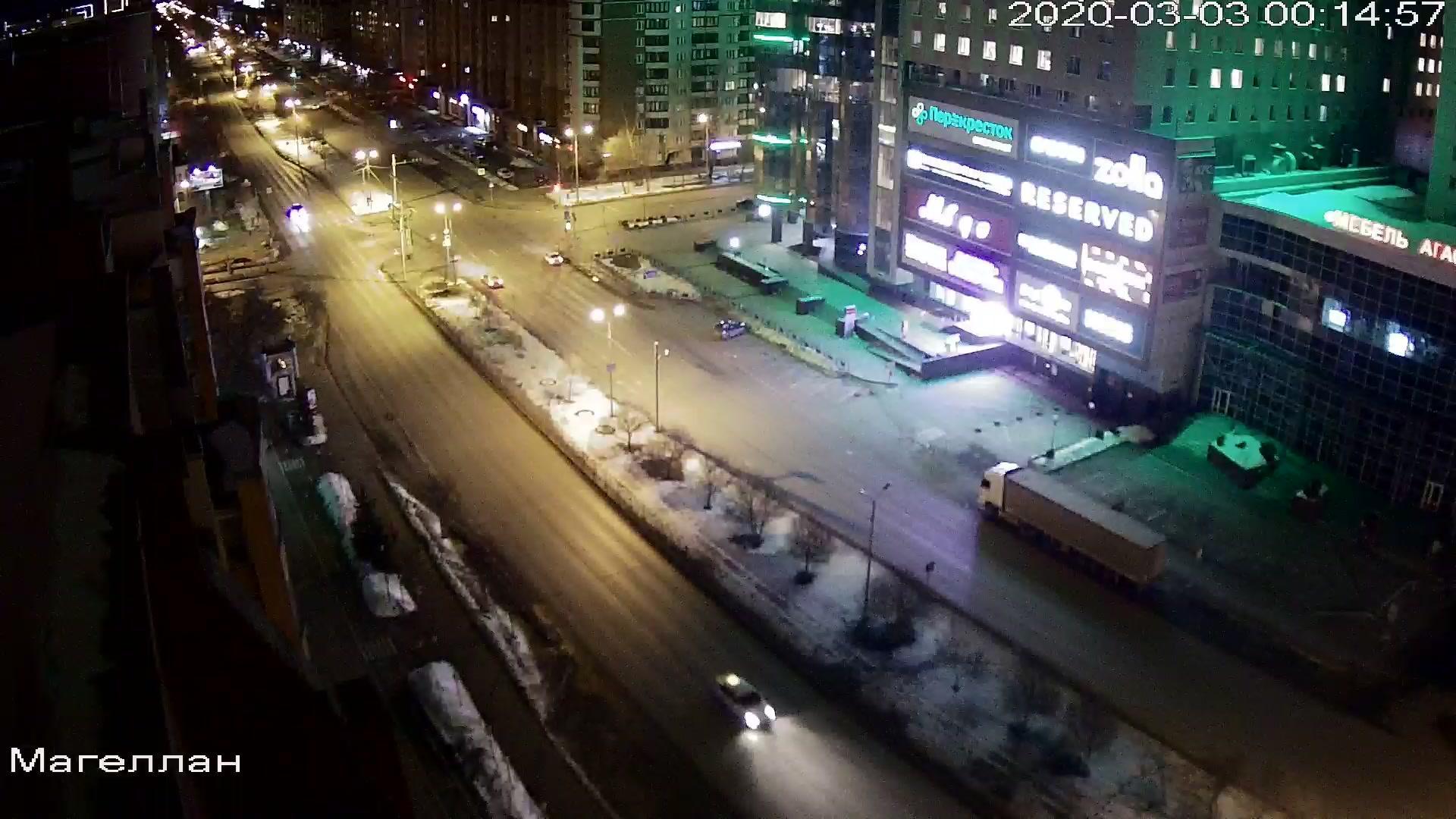 Webkamera Tyumen: ТГК Магеллан