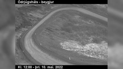 Daylight webcam view from Holmavik: Norðdalur