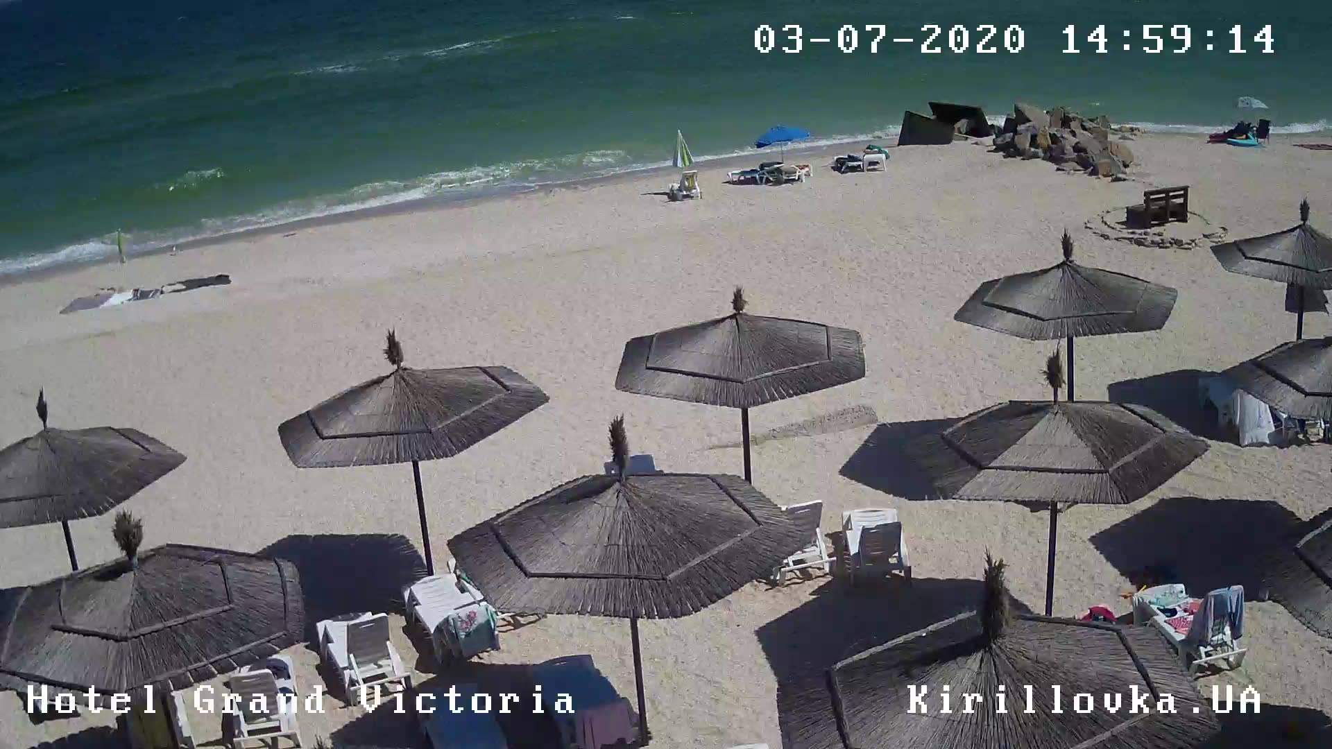 Webcam Fedotova Kosa: Beach