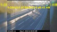 Burnaby › East: , Hwy  at Douglas Rd overpass, looking east - Recent