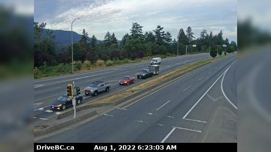 Webcam Departure Bay › North: Hwy 19 at Northfield Rd in