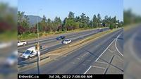 Nanaimo > North: Hwy  at Northfield Rd in - looking north - Actuales