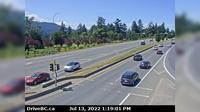 Nanaimo > North: Hwy  at Northfield Rd in - looking north - El día