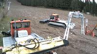 Last daylight view from Vartop › North: Vârtop Partia de Ski Partie de schi