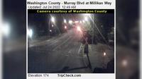 Beaverton: Washington County - Murray Blvd at Millikan Way - Actuales